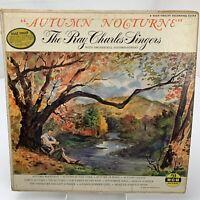 Ray Charles Singers Autumn Nocturne LP Record Album Vinyl