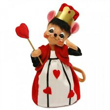 "Queen Of Hearts Alice in Wonderland 6"" Poseable Figures New Annalee 2015 Series"
