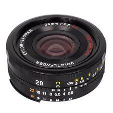 Voigtlander 28mm F/2.8 Color Skopar SL II N Aspherical Lens 28 F2.8 for Canon EF