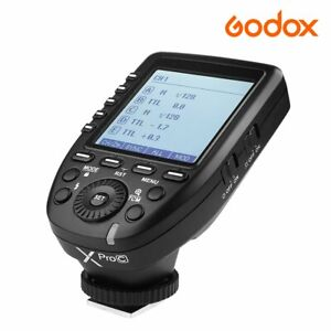 Godox XPro-C 2.4G TTL Camera Flash Speedlite Transmitter Trigger For Canon