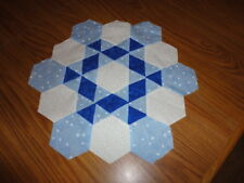 Plastic Templates - Snowy Snowy Night  quilt