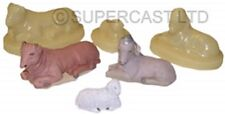 SUPERCAST REF 0165  3 x  SMALL NATIVITY  ANIMALS  LATEX MOULDS