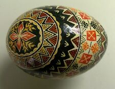 Vintage Hand Painted Collector Or Easter Egg. One Of A Kind #6 of 34
