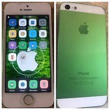 iOS 10 JAILBROKEN iPhone 5 A1429 16GB SPRINT Boost CUSTOM GREEN Jailbreak CYDIA