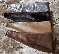 Tie backs Crushed velvet tie backs 4 colours matching curtains available