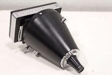 Polaroid Land Camera Back Film Pack Adapter w/ Nikon Microscope 1.3X Relay Cone