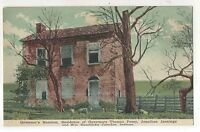 Old Governor's Mansion CORYDON IN Vintage Indiana Postcard