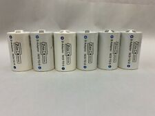 Lot of 6 ENELOOP Size C Battery Adapter for Use w AA Rechargeable SANYO NCS-TG-C