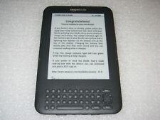 "Amazon Kindle Keyboard 3, Wi-Fi, 6"", 4GB, D00901, 3rd Generation"