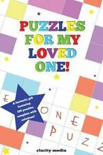 Puzzles for My Loved One by Clarity Media (2013, Paperback)