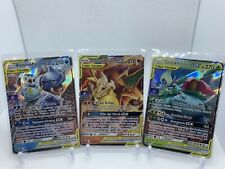 Pokemon Gym Promo Starter Trio Charizard Blastoise Venusaur Mint Indonesian Card