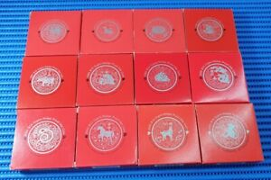 1993-2004 Singapore Lunar Series 2 $10 Cupro-Nickel Proof-Like Coin (Lot of 12X)