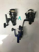 Lot of 3 spinning reels LOT A