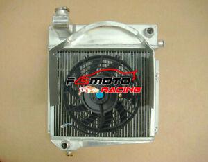 Radiator + FAN For MG Midget 948/1098 Austin Healey Sprite Bugeye Frogeye 58-67