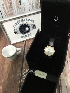 Bulova Ladies' Gold Tone Quartz Watch 97L159