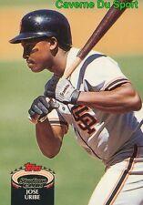 371  JOSE URIBE  SAN FRANCISCO GIANTS TOPPS BASEBALL CARD STADIUM CLUB 1992