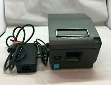 New Listingstar Tsp700ii Thermal Pos Receipt Printer Ethernet With Power Supply