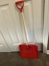 Kid's Red Snow Shovel