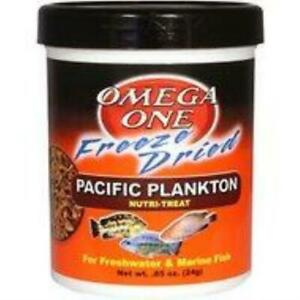 Omega One Freeze Dried Pacific Plankton .85 oz