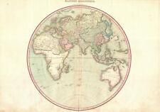 1818 Pinkerton Map of the Eastern Hemisphere