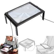 A4 Full Page Reading Aid Lens Magnifier Sheet Magnifying Glass 3X Magnifier