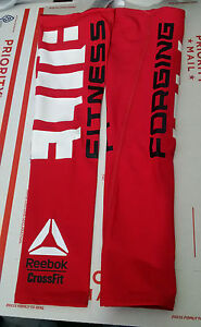 Reebok Cross Fit Compression Arm Sleeve Style CF 45A One Pair