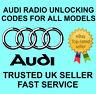 AUDI RADIO CODE UNLOCK CODE FOR RADIO RNS-E NAVIGATION CHORUS | ALL MODELS