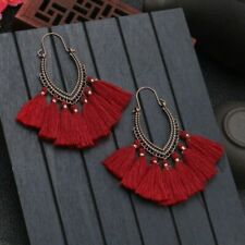 Fashion Bohemian Tassel Earrings Long Drop Dangle Women