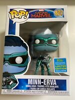 Funko Pop! Captain Marvel Minn-erva #487 Exclusive