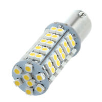 2 1156 1210 BA15S 68 SMD 3528 LED Warm White Tail Turn Stop Light Lamp U4T1 Q3X1