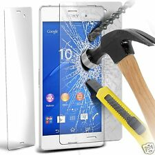 100% Genuine Tempered Glass Film Screen Protector for Sony Xperia Z3