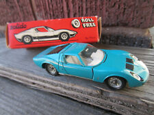 Vintage Marx Solido Lamborghini Miura No. 161 France Post Cereal Dinky Toys