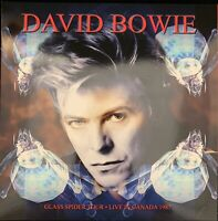 David Bowie Live Glass Spider Tour Montreal 1987 Limited Edition Red Vinyl 3 LP