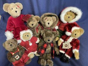 Boyd's Bears Lot -Christmas & Winter Bears -Retired Early 2000s