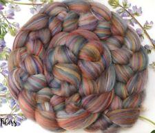 GRANADA - Merino Wool Roving Color Blend Combed Top Spinning Felting - 4 oz