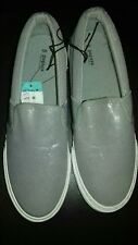 Ladies Grey Sparkly Pumps Size 5 Narrow Fit By Matalan