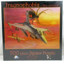 *NEW SEALED* IRAQNOPHOBIA by Roy Grinnell 500 pc. Jigsaw Puzzles SUNSOUT #37608