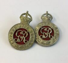 First & Second Life Guards Cape Badge 4cm In Length