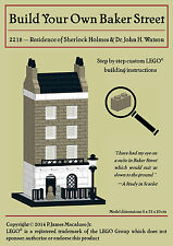 LEGO INSTRUCTIONS for custom 221B Baker St. (residence of Sherlock Holmes)