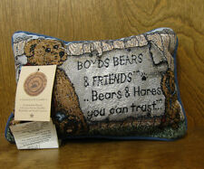 Word Pillowdesigned for Boyds #21473 Boyds Bears & Friends., Manual Woodworkers