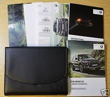 Genuine BMW X5 Manuale di navigazione Proprietari Manuale 2013-2017 Pack 8476!