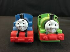 Lot 2 Thomas Train & Friends BATH WATER Toy Engines Percy Figures