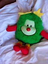 rainbow brite bright vintage old sprite star doll plush green old 1980's toy