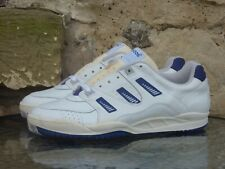 Vintage 1990s Adidas ATP On Tour UK11 Made In Poland White Blue Deadstock OG 90s