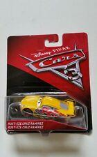 NOVITA' CARS 3 Disney pixar RUST-EZE CRUZ RAMIREZ n.95 2017 RARO mattel 1/55