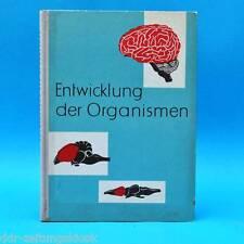 DDR | Schulbuch Entwicklung der Organismen | Biologie | 1965 Lehrbuch