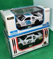 Revell 1/64 2 Race Car Lot Dale Earnhardt Jr Sikkens Steve Grissom Kodiak