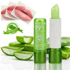 Aloe Vera Lip Gloss Lipstick Temperature Color Change Lip Balm Moisturizing US