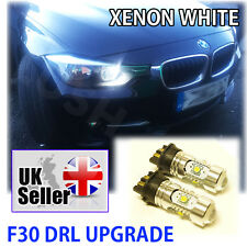 * BMW 3 Series F30 Bombillas De Xenón Blanco DRL UPGRADE PW24W 30W LED luz de día