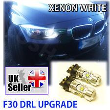 BMW 3 SERIES F30 DRL UPGRADE XENON WHITE CREE BULBS PW24W 30W LED Daytime Light